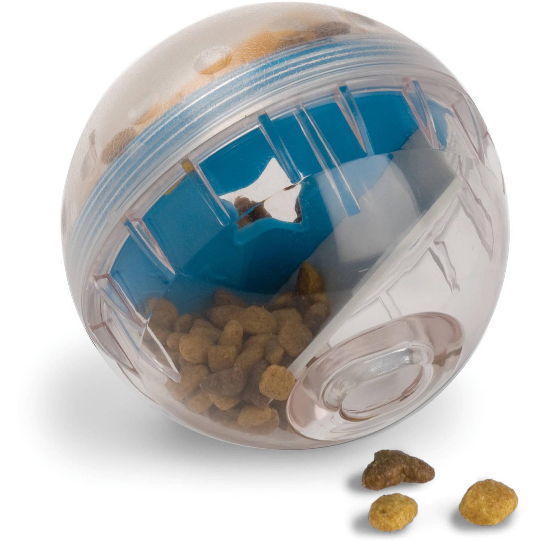 "Pet Zone Interactive IQ Treat Ball 4"" Dog Toy"