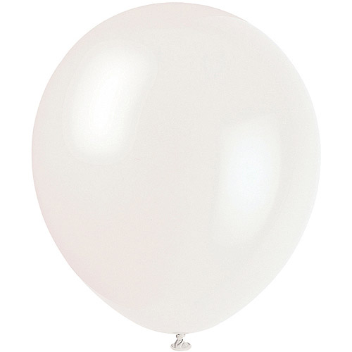 """12"""" Latex Clear Balloons, 72ct"""