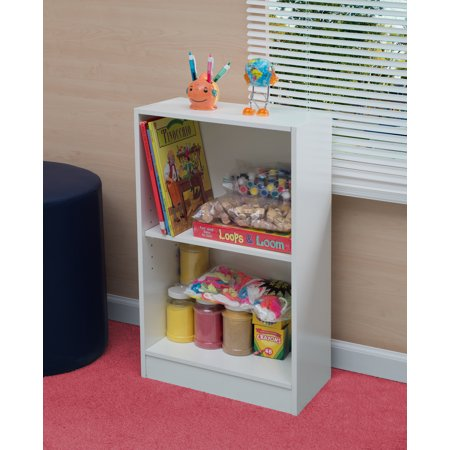 Niche Mod 2 shelf Bookcase - White Wood Grain ()