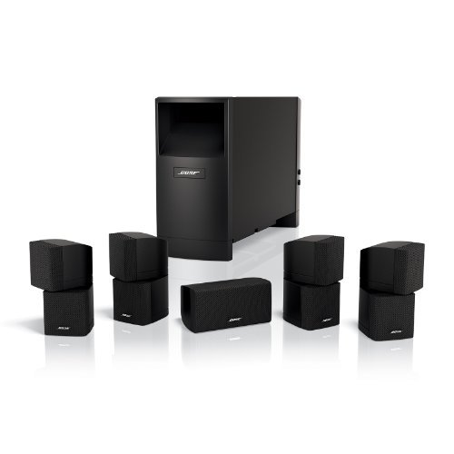 Bose Acoustimass 10 Series IV Home Entertainment Speaker System (Black) by Bose