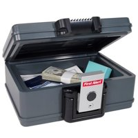 Deals on First Alert 2017F Water and Fire Protector File Chest