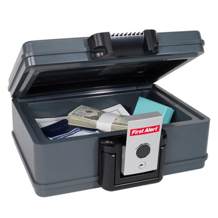 First Alert 2017F Water and Fire Protector File Chest, 0.19 Cubic (Excel Fire File)