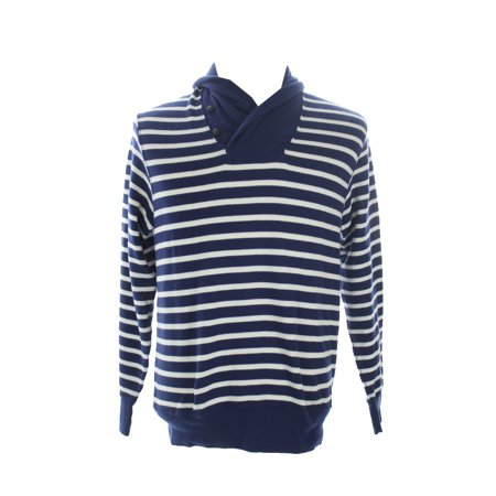 Polo Ralph Lauren  Royal Long Sleeve Striped Terry Pullover M