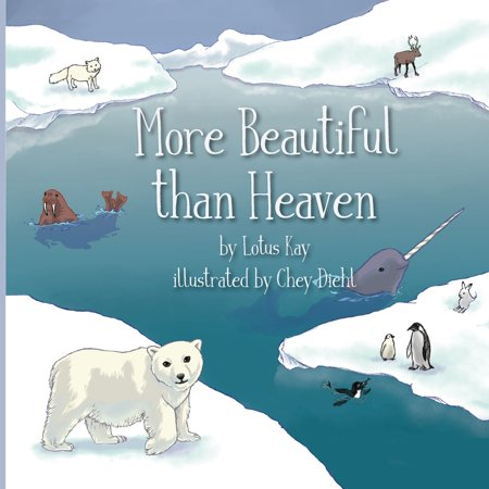 More Beautiful than Heaven (Paperback) Join Beary the bear and our other animal family and friends as we celebrate the wonder and beauty of our home, the Earth, and be inspired to care for our planet and protect it.Lotus wrote More Beautiful Than Heaven when she was 16 to raise awareness about the beauty of nature and the Earth, the endangered state of wildlife and our environment, and ultimately inspire children to care for and protect the planet and our fellow inhabitants. She then wrote Billie the Octopus to educate kids about the beauty and importance of the ocean and protecting fish and marine life.Both books have stuffed animals that are characters in the book that can be found at the Bears for Cares website:  Beary  (the polar bear in More Beautiful Than Heaven) and  Billie  (the octopus), which support the Roots & Shoots program.For more information on the Bears for Cares campaign or to purchase the stuffed toys that accompany this book, visit www.bearsforcares.com.These books are printed on recycled, acid-free paper.A portion of the proceeds from both books will be donated to the Jane Goodall Institute and its Roots & Shoots program.About the AuthorLotus Kay is a teen writer. Her writings have been published in various publications such as Vegan Health & Fitness Magazine and Thrive Global. She is a recipient of a grant from Jane Goodall's Roots and Shoots program for her work creating an educational campaign called Bears for Cares to educate youth about endangered species and wildlife. She is the author of More Beautiful Than Heaven and Billie the Octopus, both in collaboration with Bears for Cares, to educate kids on the importance and beauty of nature, and motivate them to help protect the Earth.About Bears for CaresOn Endangered Species Day, Lotus Kay and her sister Jazmin teamed up with Hugg-A-Planet to launch the new Bears for Cares foundling collection of stuffed animals to raise awareness for their generation on the state of wildlife and endangered s