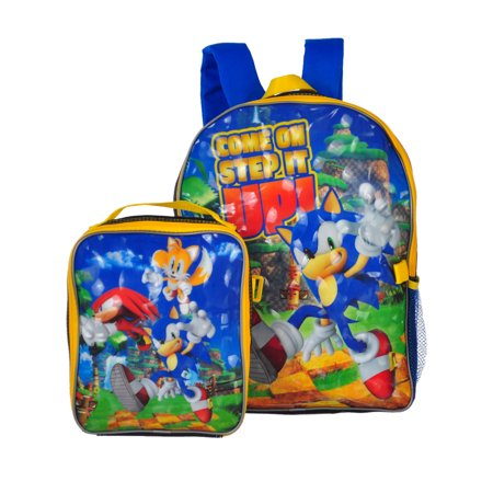 Sonic the Hedgehog Backpack and Lunchbox - Sonic Girls