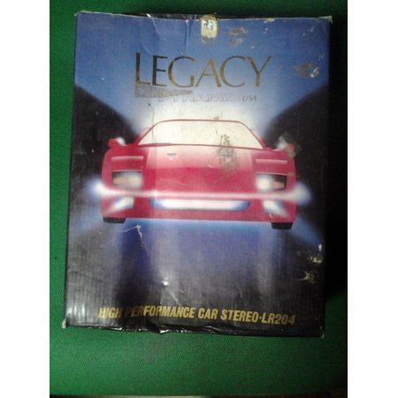 Legacy Pyramid High Performance Car Stereo LR204 Cassette Player