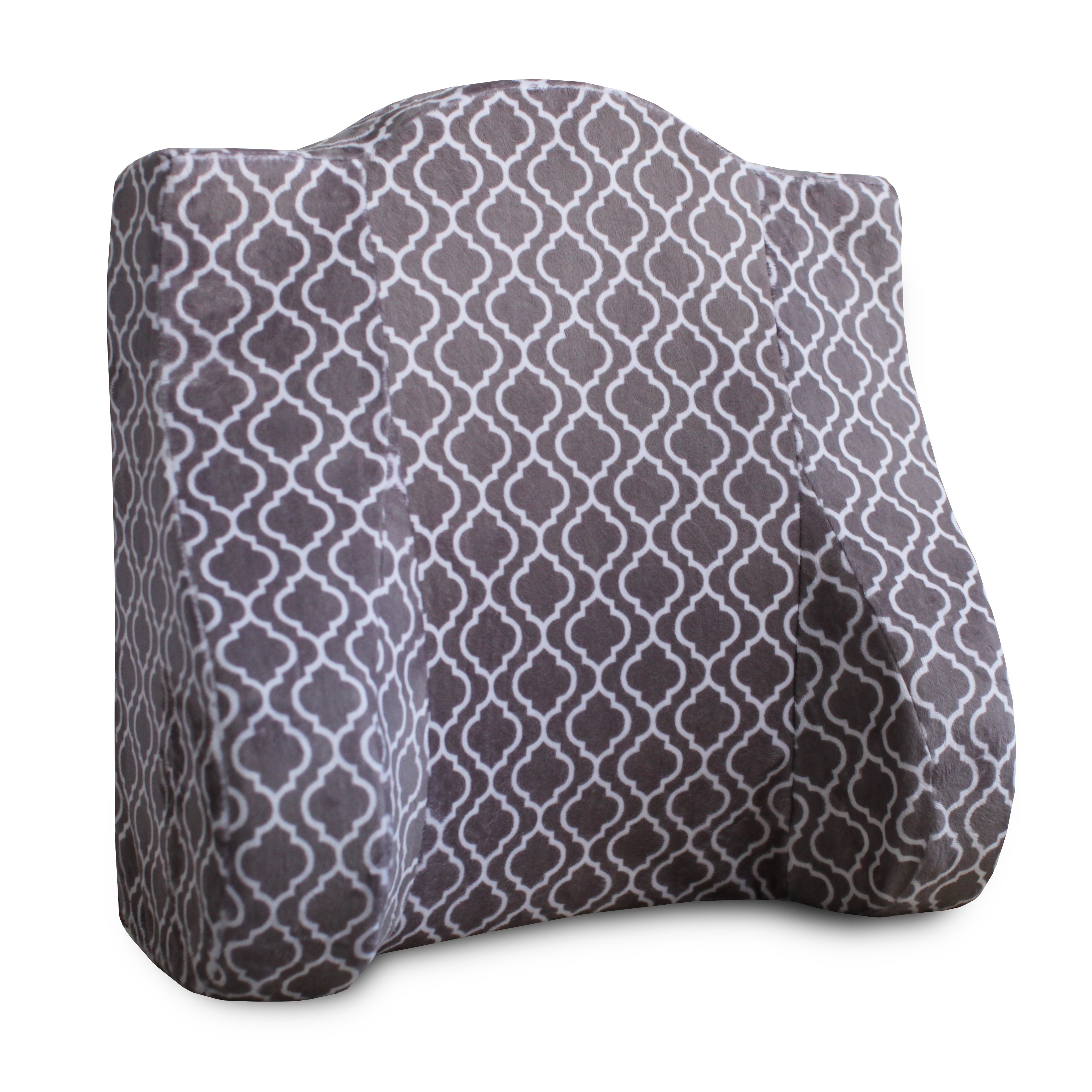 Back Buddy All-In-One Support Pillow for Pregnancy, Feeding, and Postpartum Ellison (Charcoal Trellis) by Supplier Generic
