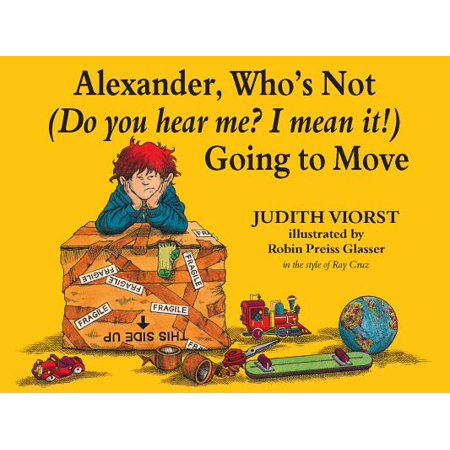 Alexander, Who's Not (Do You Hear Me? I Mean It!) Going to Move -