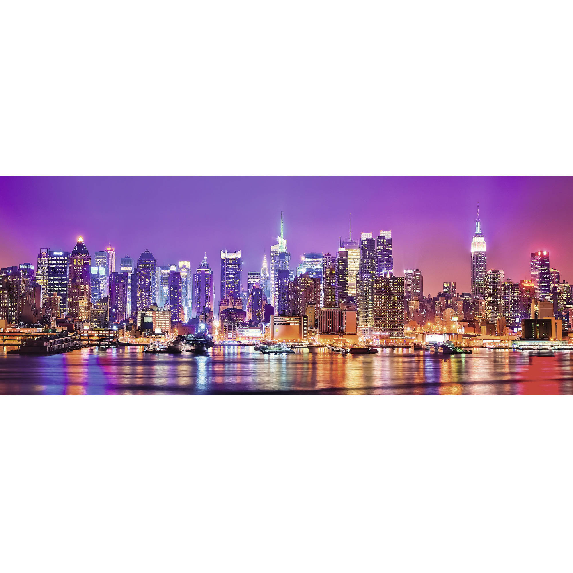 Ravensburger Manhattan Lights 1000 Piece Panorama Puzzle by Ravensburger USA Inc