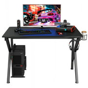 Costway Gaming Desk W/ Cup Holder