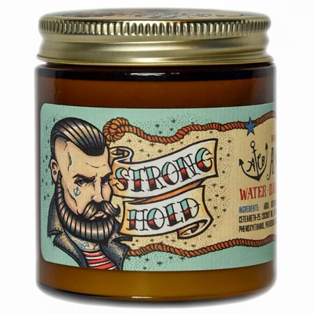 Anchors Strong Hold Water Based Pomade 4.5oz (The Best Water Based Pomade)