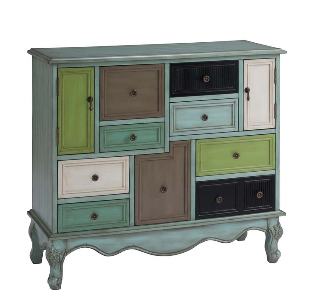 Coast To Coast 67489 Nine Drawer Two Door Cabinet