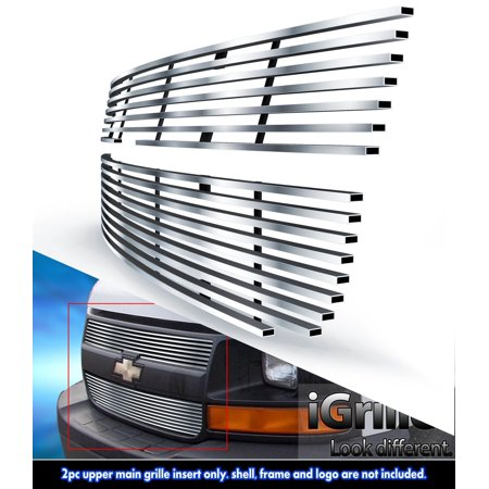 Fits 2003-2016 Chevy Express Explorer Conversion Van Stainless Billet Grille