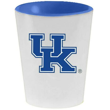 Kentucky Wildcats 2oz. Inner Color Ceramic Cup - No Size (Wildcats Ceramic)