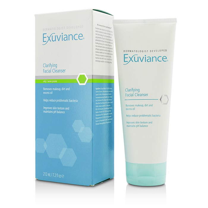 exuviance facial cleanser