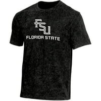 Product Image Men s Russell Black Florida State Seminoles Classic Fit  Enzyme Wash T-Shirt c6d45e9c9