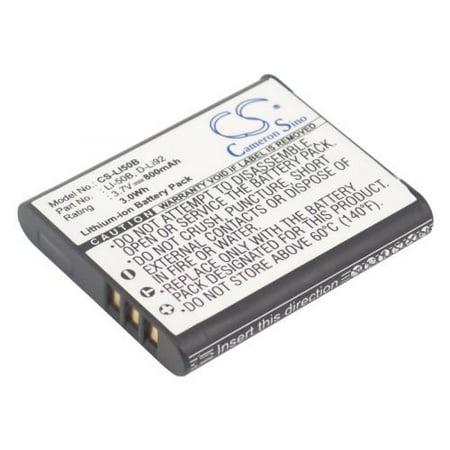 NP-150 Camera Battery for Casio Exilim EX-TR10, EX-TR15, EX-TR100, Exilim EX-TR150,  EX-TR200, EX-TR300, Exilim EX-TR350, EX-TR350s, EX-TR500, 800mAh (Casio Camera Tr100)