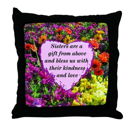 (CafePress - SISTER BLESSING - Decor Throw Pillow (18