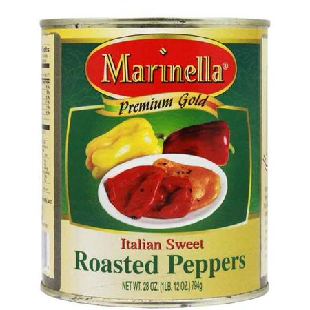 Fire Roasted Peppers (Marinella Italian Fire-Roasted Sweet Peppers - 28)