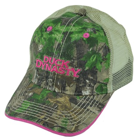 Duck Dynasty Women (Duck Dynasty A&E Realtree Camouflage Ladies Women Garment Wash Buckle Hat)