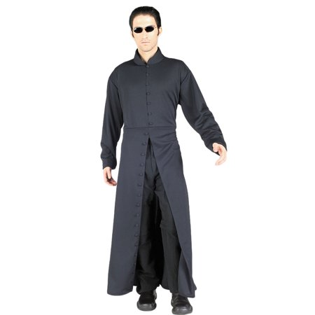 Morris Costumes Mens Long Sleeve Polyester Matrix Neo Costume One Size, Style RU15032
