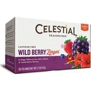 Wild Berry Zinger Tea Celestial Seasonings 20 Bag