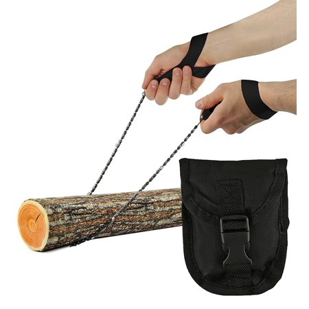 Wealers Pocket Chainsaw, Hand Saw Tool is Best for Survival Gear - Camping - Hunting or any Home Owner. Replaces a Pruning or Pole Saw