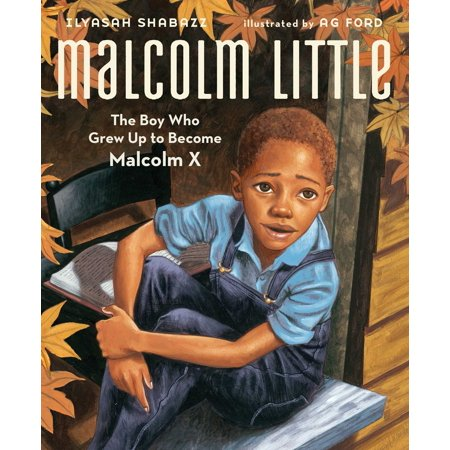Malcolm Little : The Boy Who Grew Up to Become Malcolm (Malcolm X Glasses)
