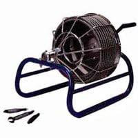 Electric Eel KK-1/2IC50 Manual Drain Auger, 1-1/4 - 3 in,...