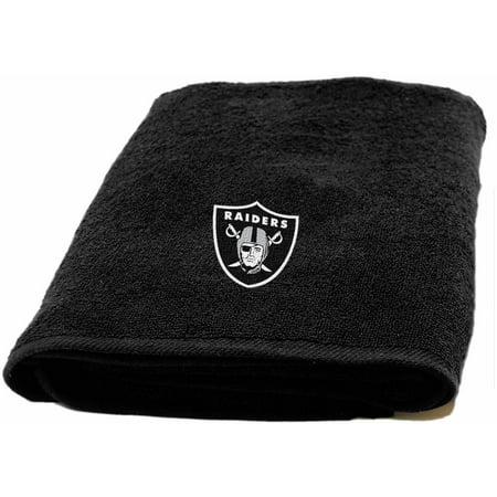 Nfl Oakland Raiders Decorative Bath Collection   Bath Towel