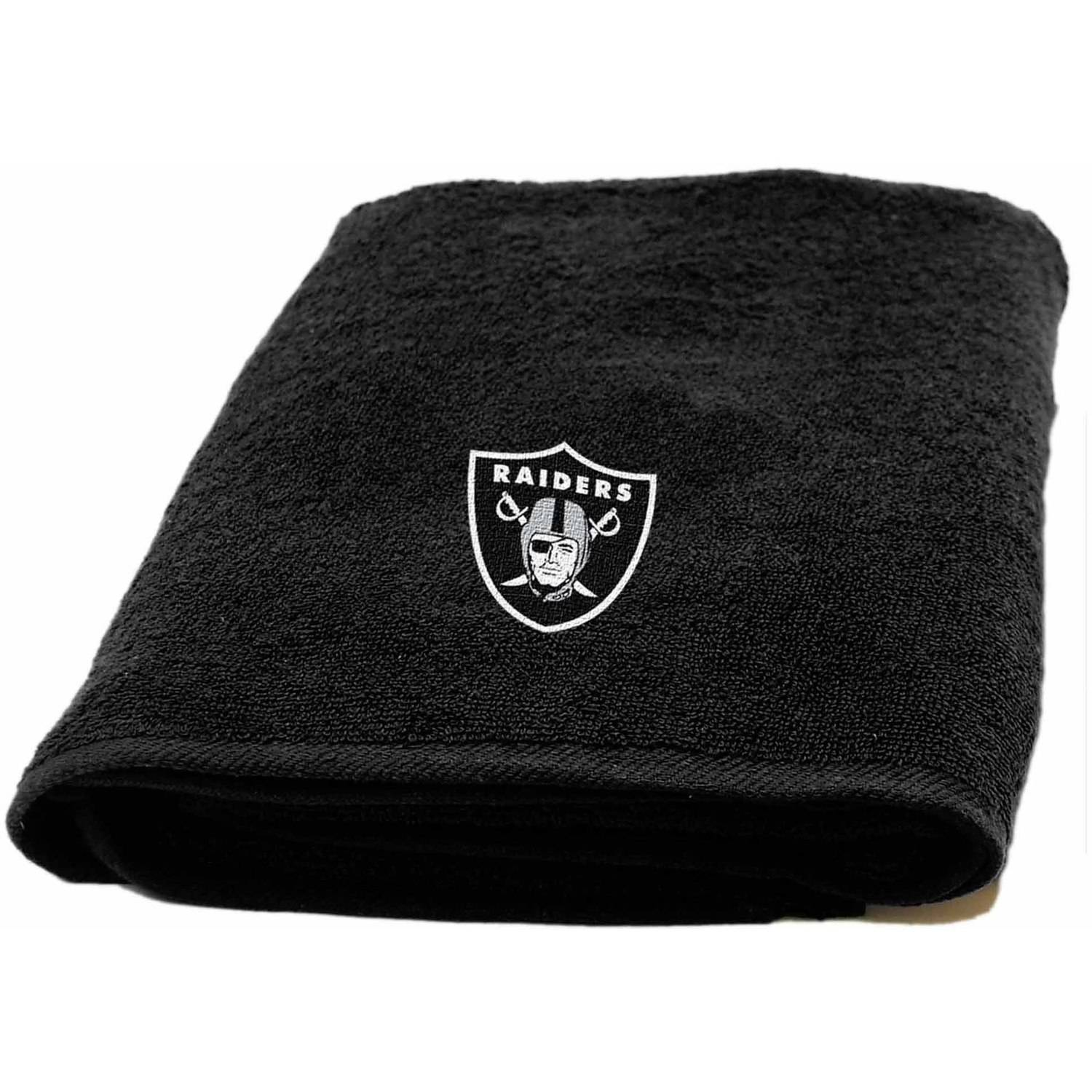 NFL Oakland Raiders Decorative Bath Collection - Bath Towel