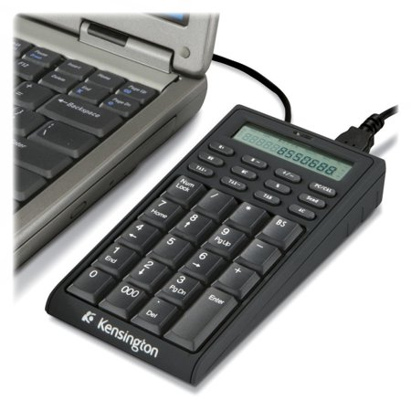 Kensington K72274US Notebook Keypad/Calculator with USB Hub - PC & MAC -