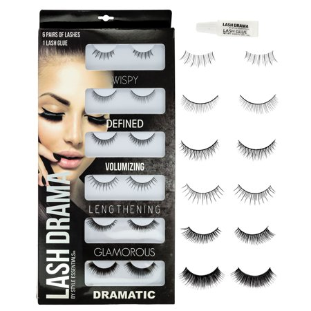 Eyelashes Set 6 Pair