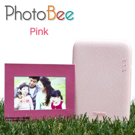 PhotoBee mobile Photo Printer(pink) for $<!---->