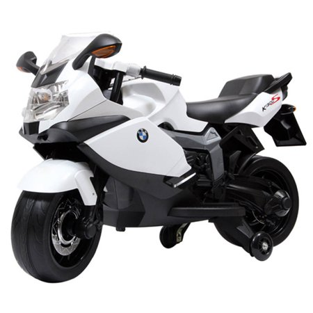 Licensed BMW Motorcycle 12V Battery Powered Ride On Car Kids Toy - -