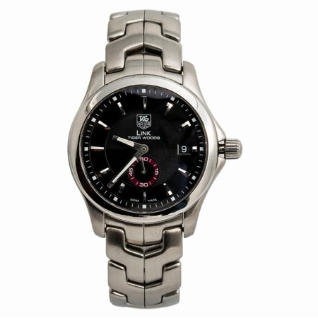 Pre-Owned Tag Heuer Link WJ2110 Steel  Watch (Certified Authentic & Warranty) New Tag Heuer Link