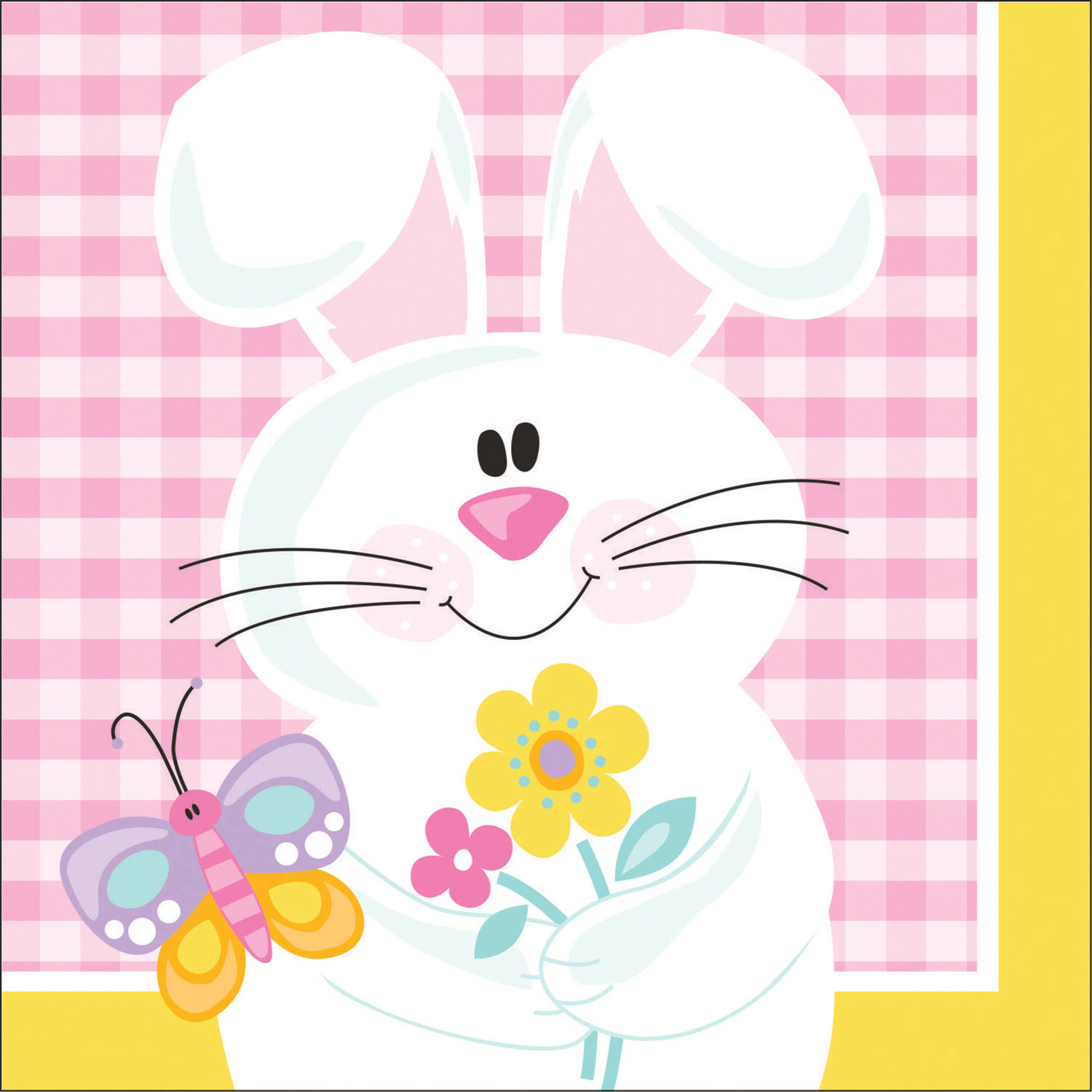 Easter Picnic Beverage Napkins, 16pk by CREATIVE CONVERTING