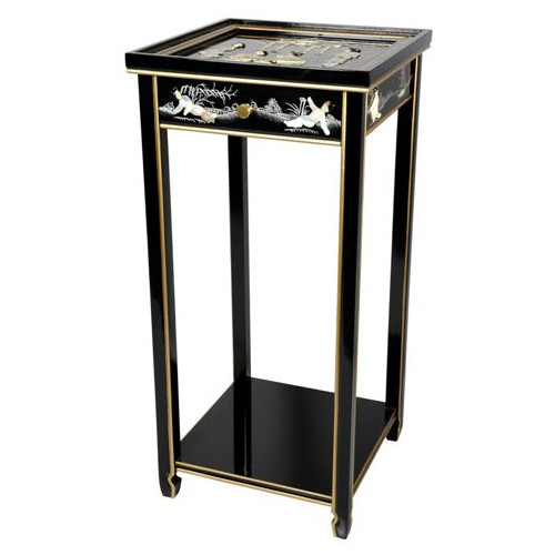 Oriental Furniture Oriental Multi-Tiered Plant Stand