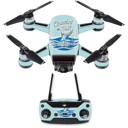 Skin For Dji Spark Mini Drone Combo   Chasin Tail  Mightyskins Protective  Durable  And Unique Vinyl Decal Wrap Cover    Easy To Apply  Remove  And Change Styles   Made In The Usa