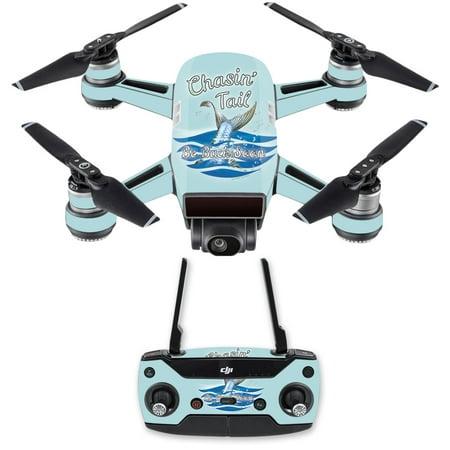 Skin Decal For Dji Spark Mini Drone Combo Sticker Chasin Tail