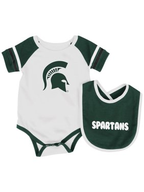 11ea59c19 Product Image Michigan State University Baby Bodysuit and Bib Set Infant  Jersey