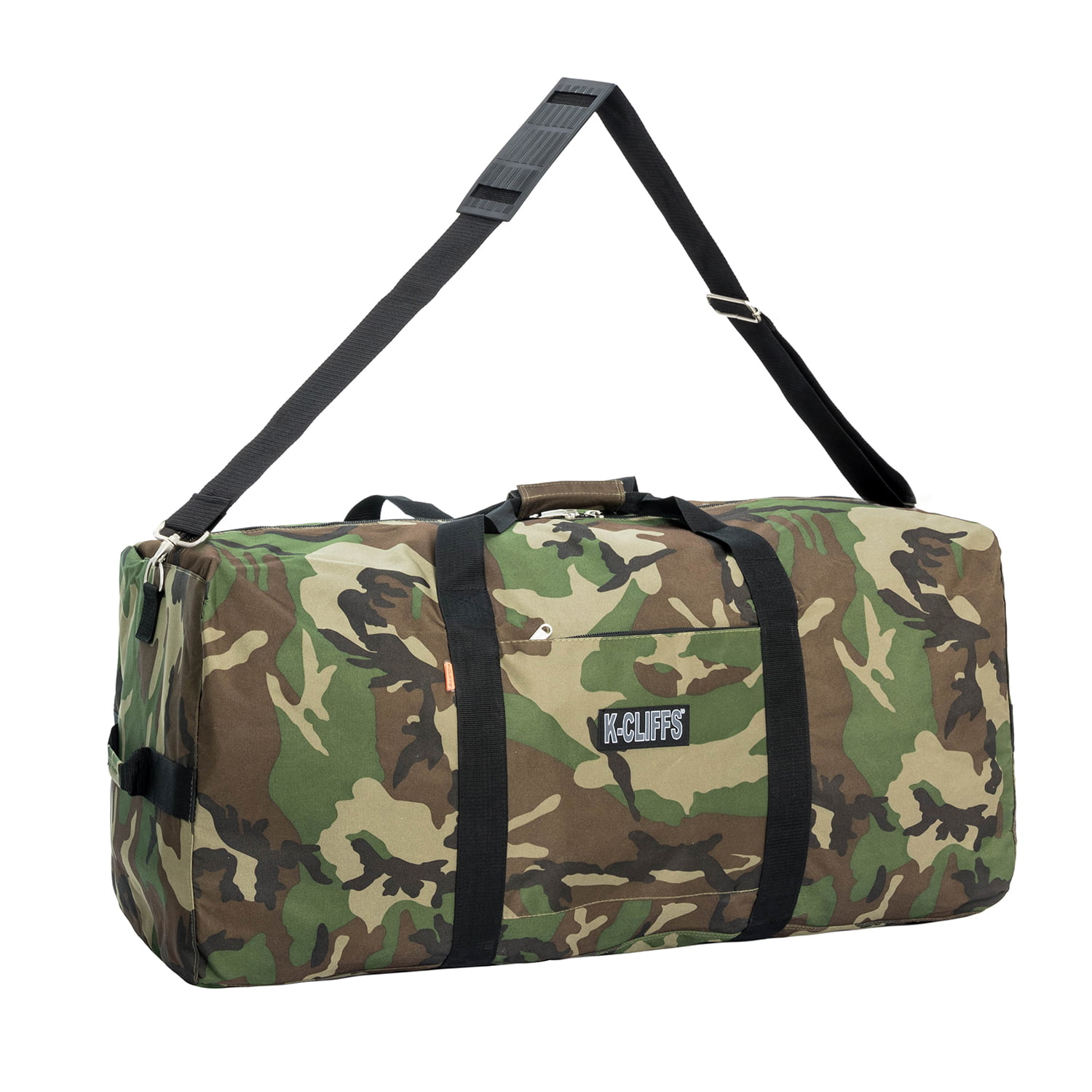 6113855d75 K-Cliffs Heavy Duty Large Square Cargo Duffel Jumbo Gear Bag Big Equipment  Bag Sport Duffel Oversized Travel Bag Huge Rack Bag - Walmart.com
