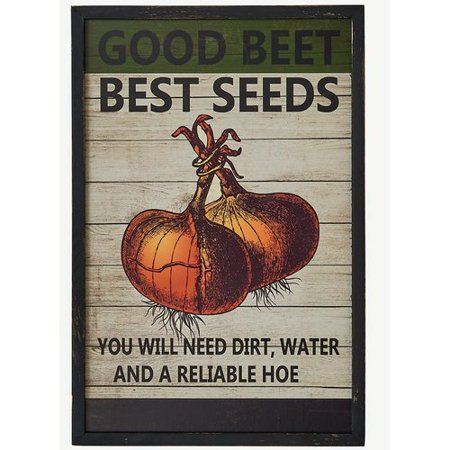 Worth Imports 'Best Seed' Framed Vintage Advertisement on