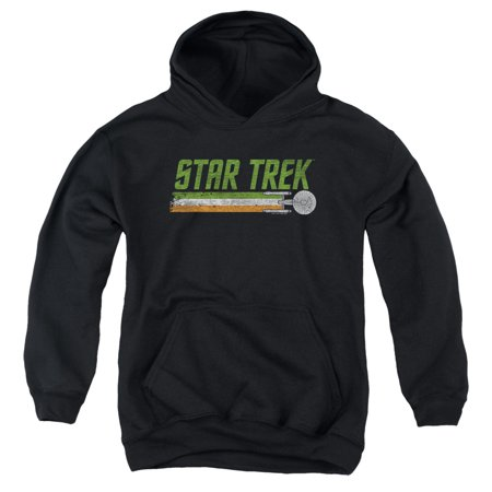 Star Trek - Irish Enterprise - Youth Hooded Sweatshirt - X-Large