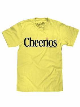 Tee Luv Cheerios Cereal Box Logo T-Shirt