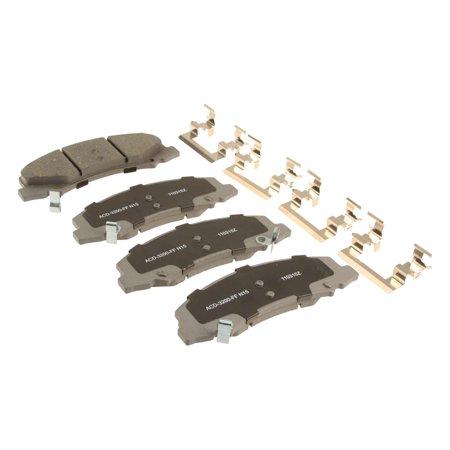 ACDelco Advantage Ceramic Brake Pad Set,w/ Hardware 14D1159CH