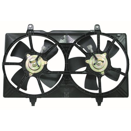Go-Parts OE Replacement for 2002 - 2005 Nissan Altima Engine / Radiator Cooling Fan Assembly - (3.5L V6) 21481-8J001 NI3115121 Replacement For Nissan