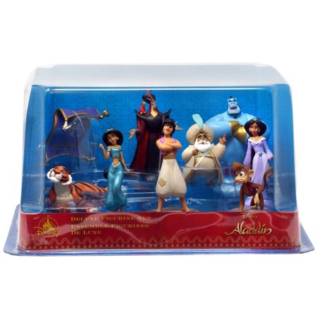 Disney Aladdin 9-Piece PVC Figure Play
