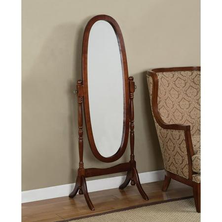 Powell Cherry Cheval Floor Mirror - Walmart.com