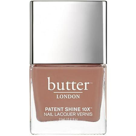 Butter London Patent Shine 10x Nail Lacquer, Tea Time, 0.4 Fl